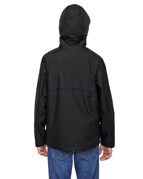 Black-back TT72Y Team 365 Conquest Jacket with Fleece Lining