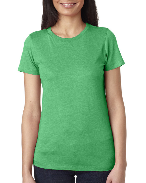 Envy 6710 Next Level Ladies' Tri-Blend Crew T-Shirt | Blankclothing.ca