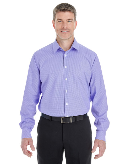 Grape - DG532 Devon & Jones Men's Crown Collection™ Royal Dobby Shirt