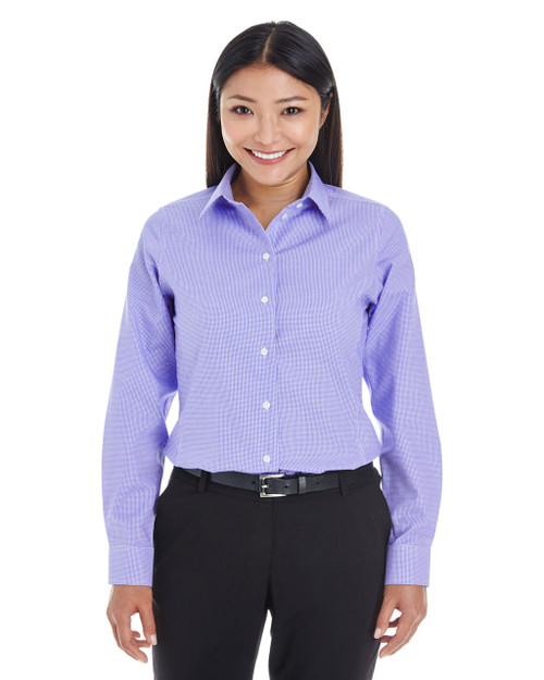Grape - DG532W Devon & Jones Ladies' Crown Collection™ Royal Dobby Shirt