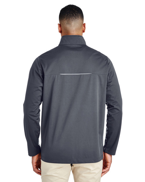 Carbon -Back  CE708 Ash City - Core 365 Men's Techno Lite Three-Layer Knit Tech-Shell Jacket | Blankclothing.ca