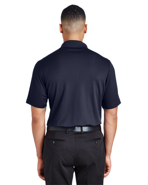 Black - DG20T Devon & Jones Men's Tall CrownLux Performance™ Plaited Polo Shirt | Blankclothing.ca