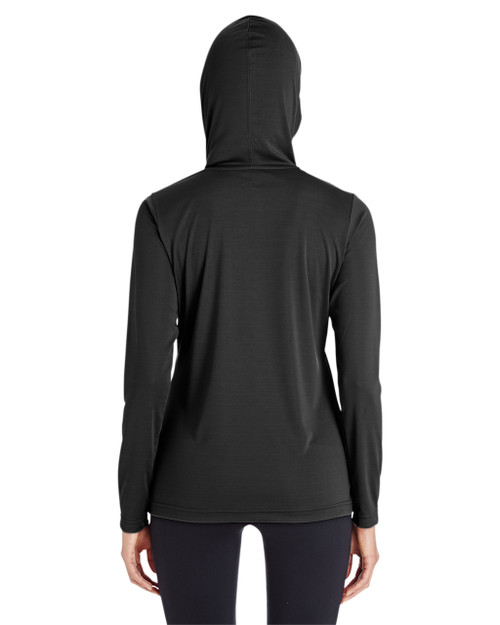 Black - TT41W Team 365 Ladies' Zone Performance Hoodie