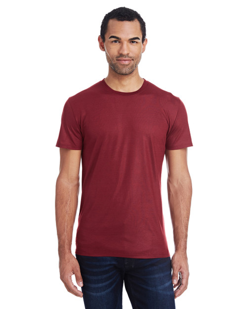 Liquid Cardinal - 140A Threadfast Men's Liquid Jersey Short-Sleeve T-Shirt | Blankclothing.ca