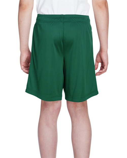 Sport Forest - Back, TT11SHY Team 365 Youth Zone Performance Short | BlankClothing.ca