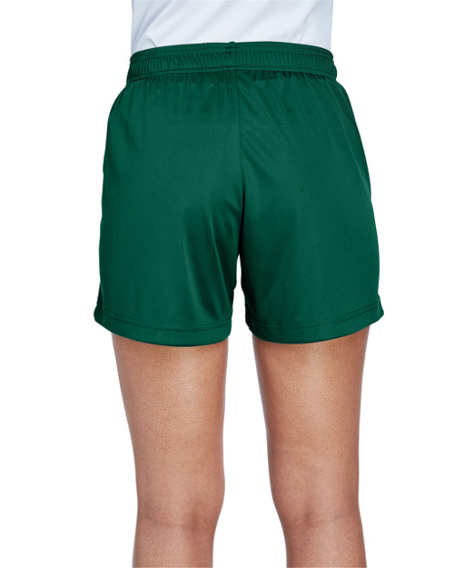 Sport Forest, Back - TT11SHW Team 365 Ladies' Zone Performance Short | T-shirt.ca