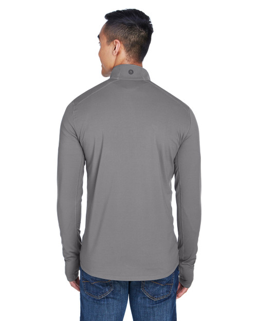 Cinder, Back - 900708 Marmot Men's Harrier Half-Zip Pullover | BlankClothing.ca