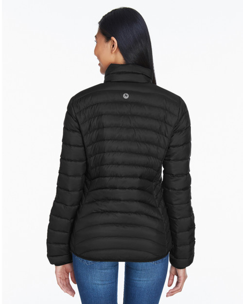Black, Back - 78370 Marmot Ladies' Aruna Insulated Puffer Jacket | BlankClothing.ca