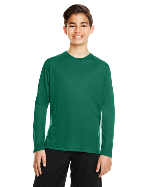 Sport Forest - TT11YL Team365 Youth Zone Performance Long Sleeve T-shirt | BlankClothing.ca