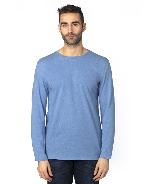 Royal Heather - 100LS Threadfast Unisex Ultimate Long-Sleeve T-Shirt | T-shirt.ca