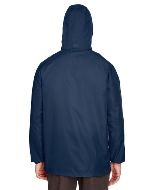 Sport Dark Navy, Back - TT73 Team 365 Adult Zone Protect Lightweight Jacket | BlankClothing.ca