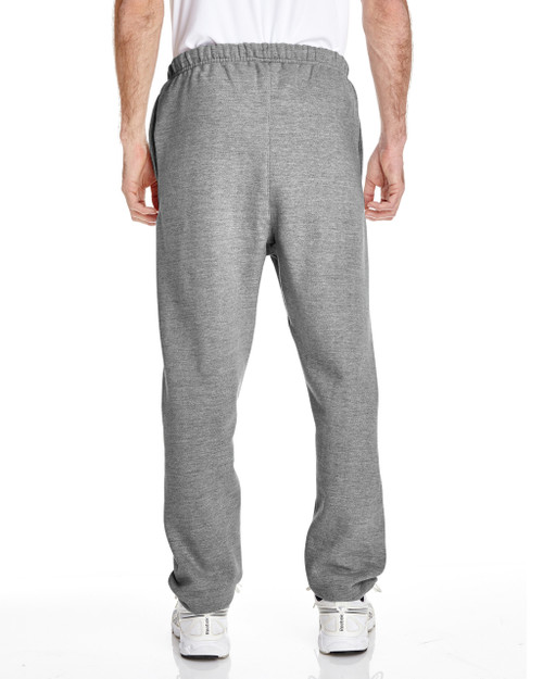 Oxford Grey, Back - RW10 Champion Reverse Weave® 17.15 oz./lin. yd. Fleece Pant | BlankClothing.ca