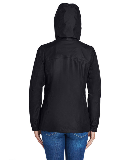Black - Back 2436 Columbia Ladies' Arcadia™ II Waterproof Jacket  | BlankClothing.ca