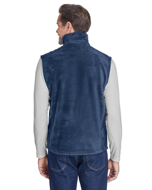 Collegiate Navy, Back - 6747 Columbia Men's Steens Mountain™ Vest | BlankClothing.ca