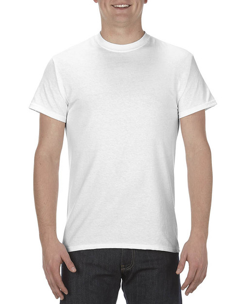 AL1901 Alstyle Adult 5.1 oz., 100% Cotton T-Shirt | BlankClothing.ca