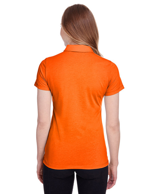 Vibrant Orange - back, 596921 Puma Golf Ladies' Fusion Polo | Blankclothing.ca