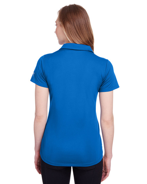 Lapis Blue - back, 596800 Puma Golf Ladies' Icon Golf Polo | Blankclothing.ca