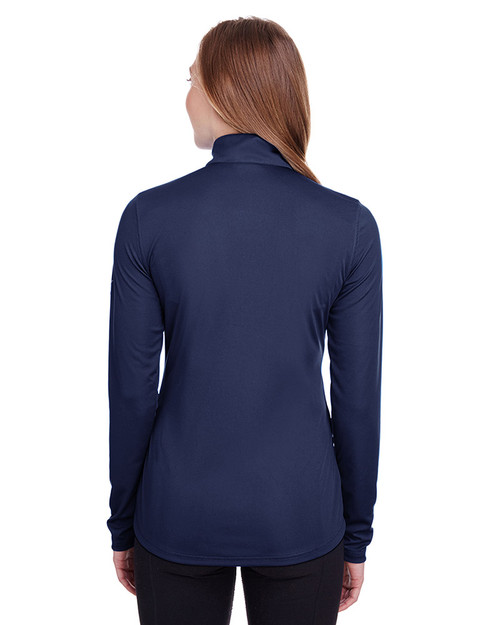Peacoat - back, 596803 Puma Golf Ladies' Icon Full-Zip Sweatshirt | Blankclothing.ca