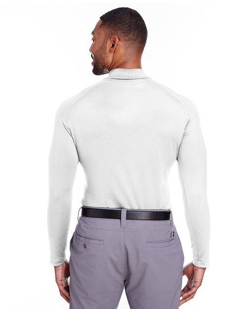 Bright White - back, 596808 Puma Golf Men's Raglan Long-Sleeve Baselayer Shirt | Blankclothing.ca