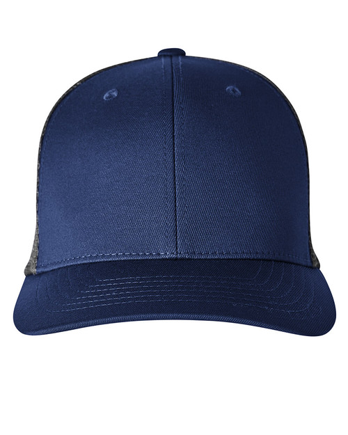 Peacoat/Quiet Shade - 22675 Puma Golf Adult 110 Snapback Trucker Cap | Blankclothing.ca