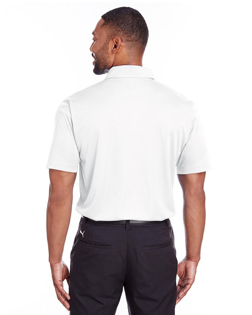 Bright White - back, 596799 Puma Golf Men's Icon Golf Polo | Blankclothing.ca