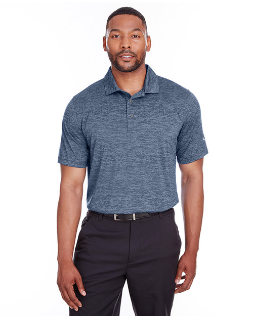 Peacoat - 596801 Puma Golf Men's Icon Heather Polo | Blankclothing.ca