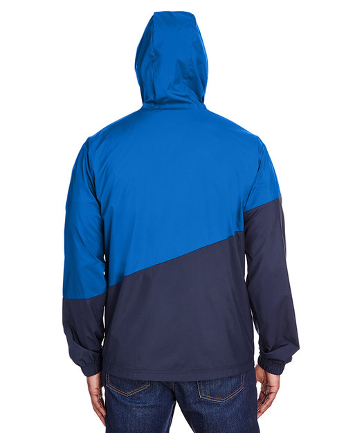 Lapis Blue/Peacoat - back, 582009 Puma Sport Adult Ace Windbreaker |  BlankClothing.ca