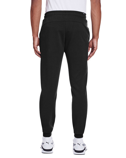 Puma Black/Smoke Pearl - back, 596989 Puma Sport Essential Adult Logo Sweatpant | Blankclothing.ca