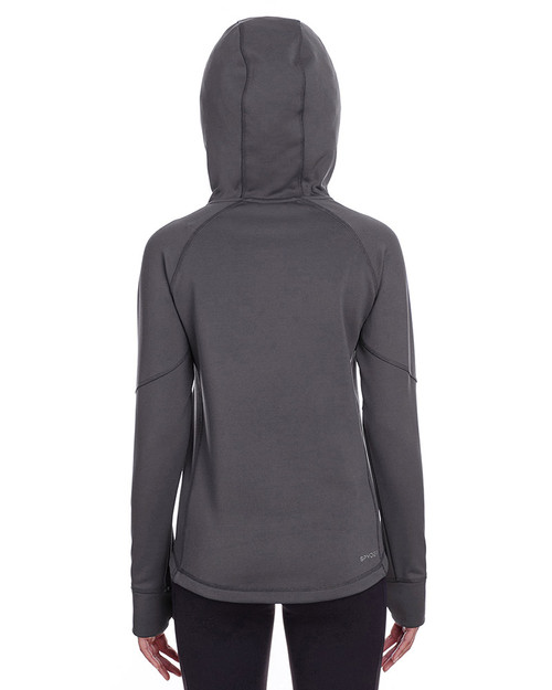 Polar - back, S16521 Spyder Ladies' Hayer Hooded Sweatshirt | Blankclothing.ca