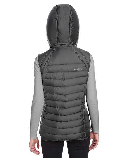 Polar - back, S16641 Spyder Ladies' Supreme Puffer Vest | Blankclothing.ca