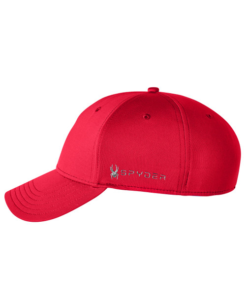 Red - SH16792 Spyder Adult Frostbit Cap | BlankClothing.ca