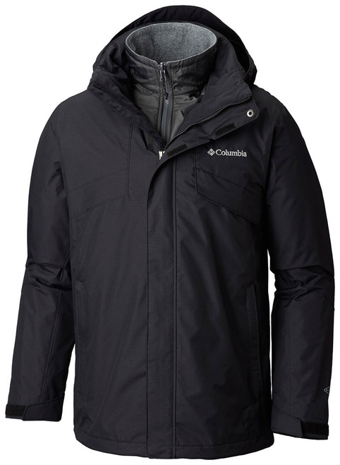 Black - 1800661 Columbia Men's Bugaboo™ II Fleece Interchange Jacket | Blankclothing.ca