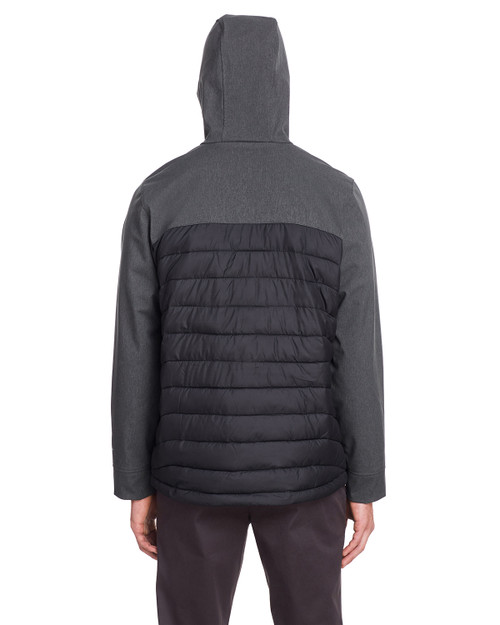 Black/Black Heather - 1864631 Columbia Men's Powder Lite™ Hybrid Jacket | Blankclothing.ca