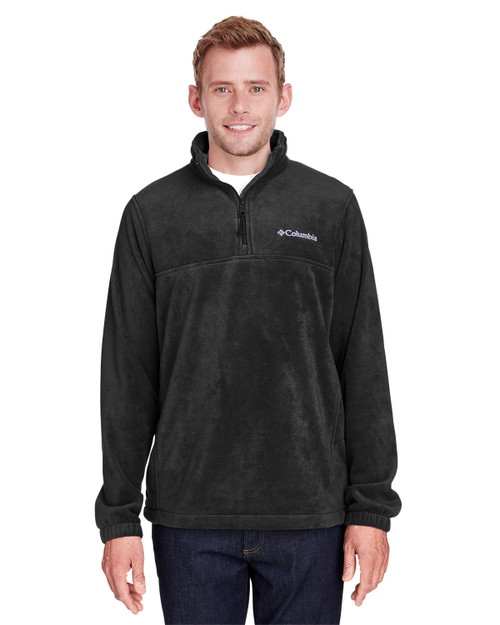 Black - 1620191 Columbia Men's ST-Shirts Mountain™ Half-Zip Fleece Jacket | Blankclothing.ca