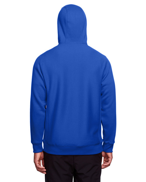 Sport Royal - Back, TT95 Team 365 Adult Zone HydroSport™ Heavyweight Full-Zip Hooded Sweatshirt | BlankClothing.ca