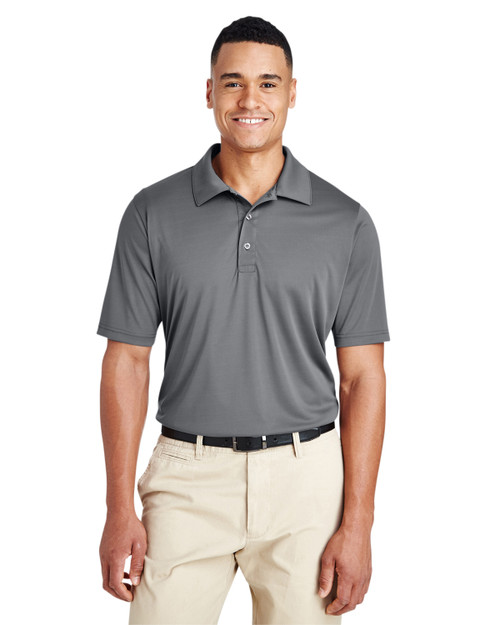 Sport Graphite - TT51T Team 365 Men's Tall Zone Performance Polo | BlankClothing.ca