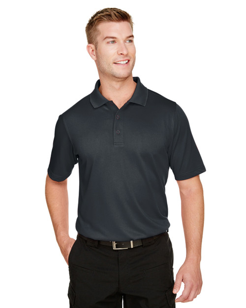 Dark Charcoal - M348T Harriton Men's Tall Advantage Snag Protection Plus IL Polo | BlankClothing.ca