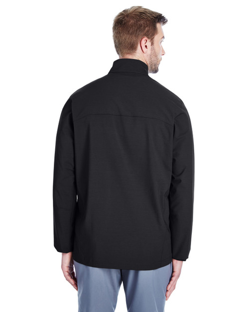 Black/ White - Back, 1317221 Under Armour SuperSale Men's Corporate Windstrike Jacket | BlanklClothing.ca
