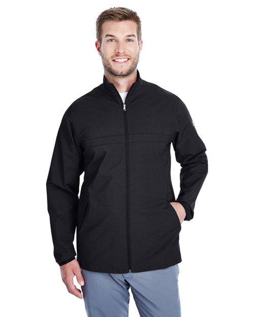 Black/ White - 1317221 Under Armour SuperSale Men's Corporate Windstrike Jacket | BlanklClothing.ca