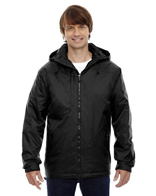 Black - 88137 North End Men's Hi-Loft Insulated Jacket | Blankclothing.ca