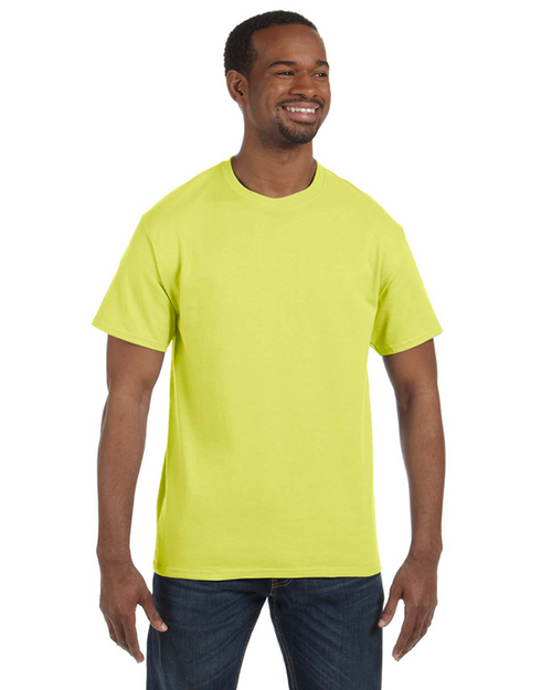 Safety Green - 29M Jerzees 50/50 Heavyweight Blend™ T-Shirt | Blankclothing.ca