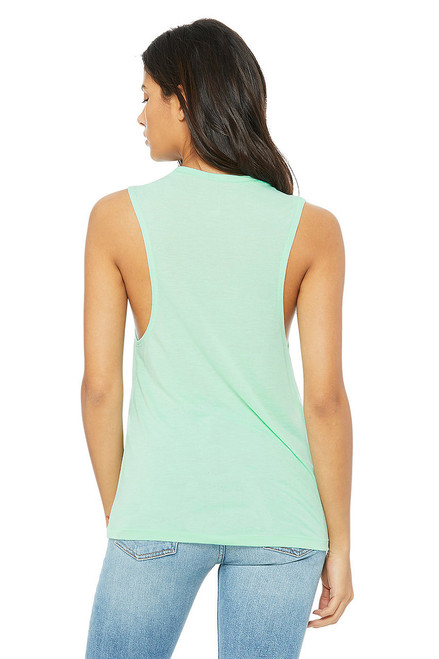Mint - B8803 Bella+Canvas Flowy Muscle T-Shirt | Blankclothing.ca
