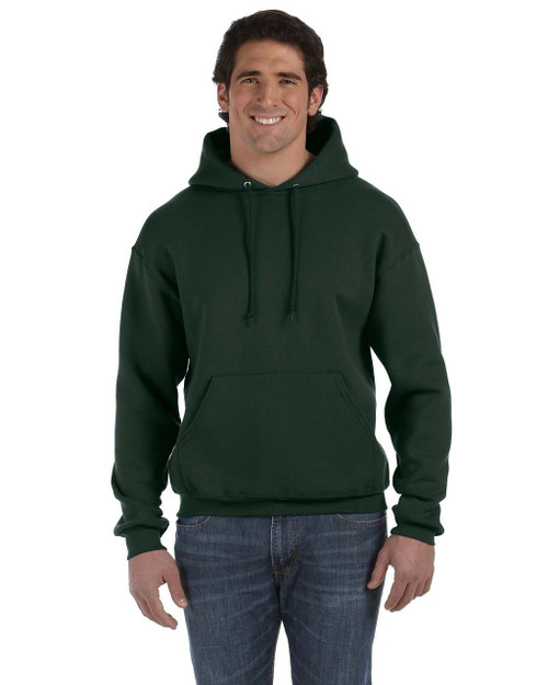 Forest Green - 82130 Fruit of the Loom Supercotton™ Pullover Hoodie | Blankclothing.ca