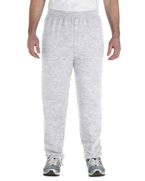 Ash - G182 Gildan Heavy Blend Sweatpants | Blankclothing.ca