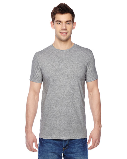 Athletic Heather SF45R Fruit of the Loom Softspun Cotton T-Shirt | Blankclothing.ca