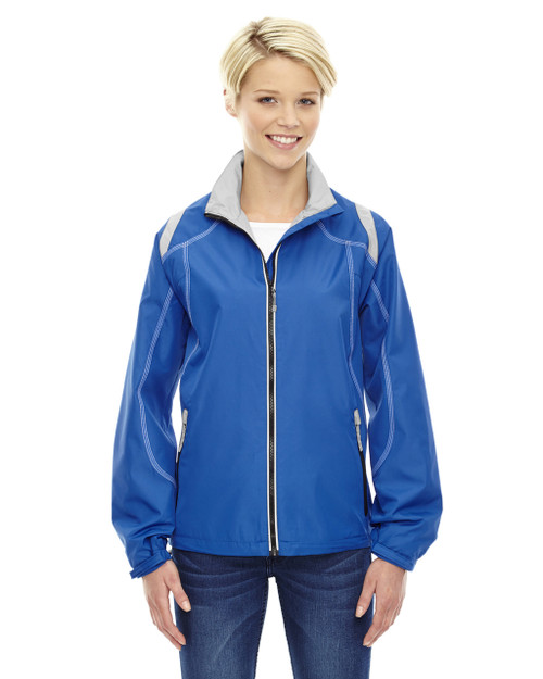 Nautical Blue - 78076 North Ladies' Lightweight Colour-Block Jacket | Blankclothing.ca