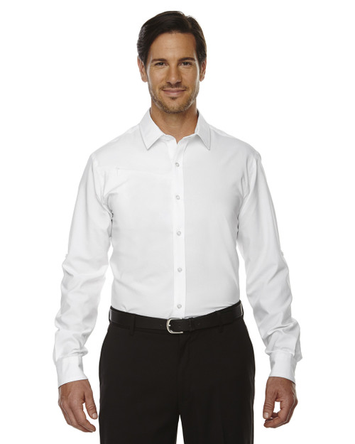 White - 88804 North End Performance Shirt with Roll-Up Sleeves Shirt