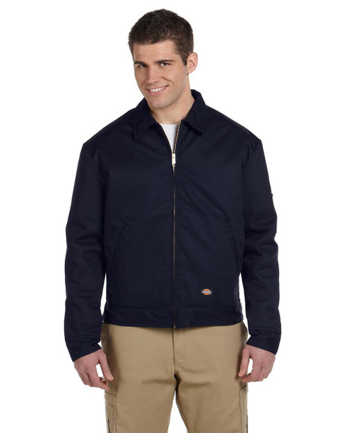 Dark Navy - JT15 Dickies Lined Eisenhower Jacket | Blankclothing.ca