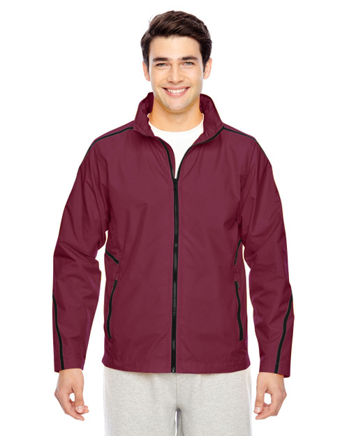 Maroon - TT70 Team 365 Conquest Jacket with Mesh Lining | BlankClothing.ca