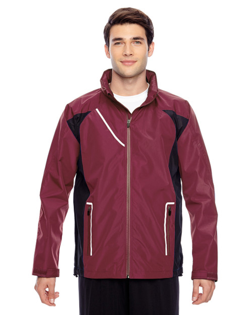Sport Maroon - TT86 Team 365 Dominator Waterproof Jacket | BlankClothing.ca